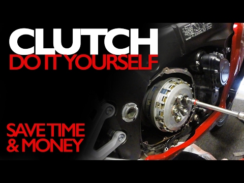 Motorcycle Clutch Change - Do It Yourself in About an Hour