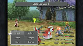 Final Fantasy 9 Stealing Ice Brand
