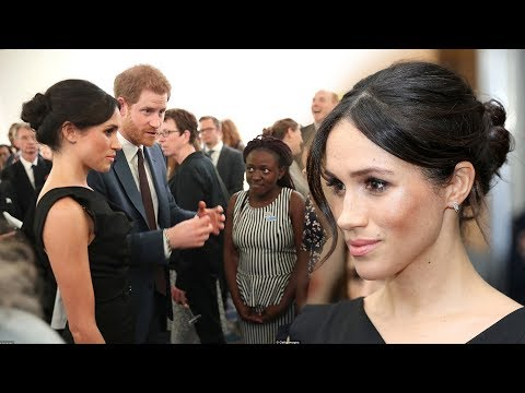 Harry's First Lady! Meghan looked so effortlessly chic in a 'Jackie O' dress at CHOGM reception
