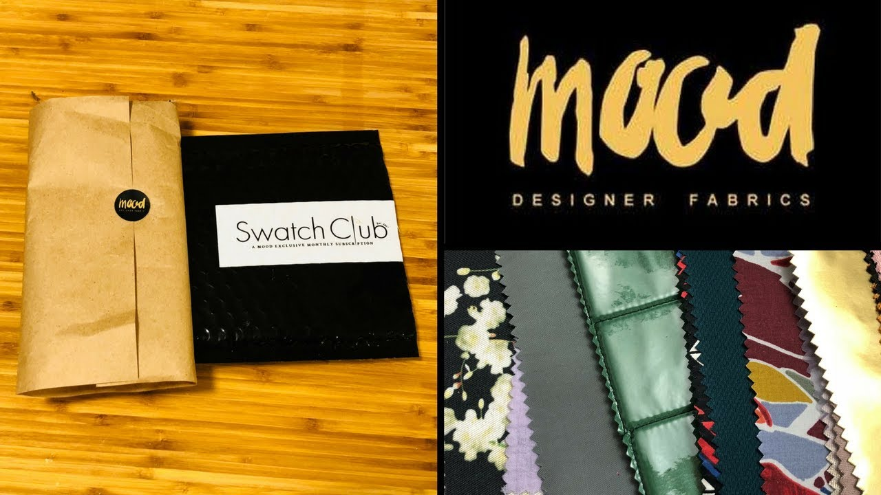 Mood Fabrics Swatch Club Review