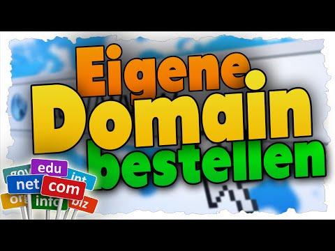 Eigene Domain erstellen! - Tutorial