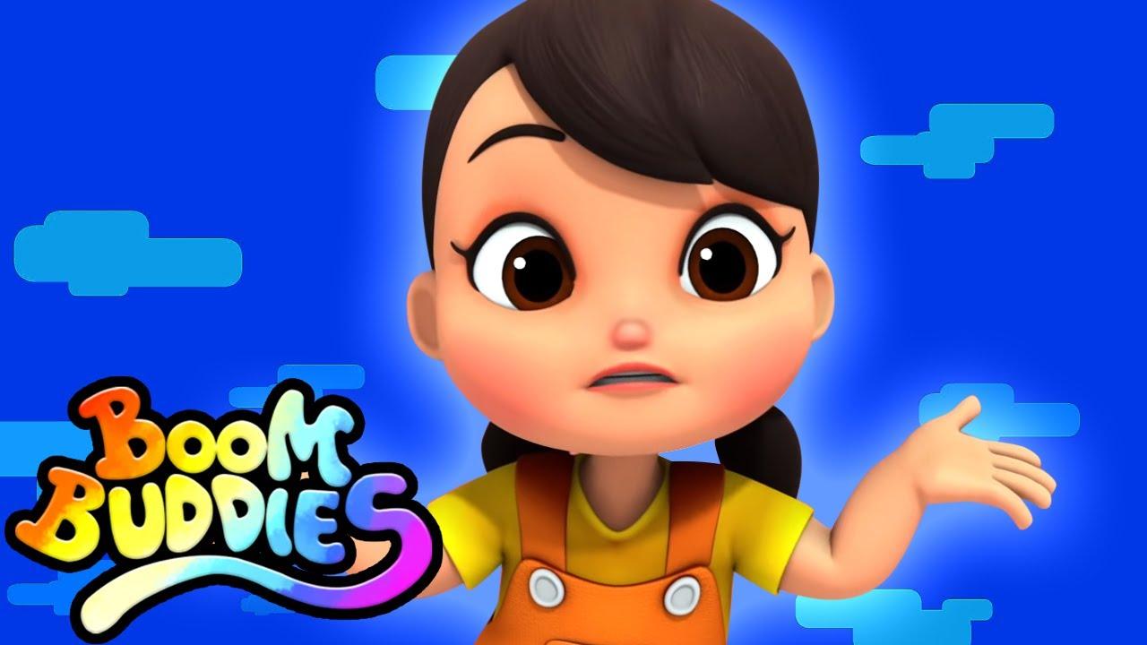 No quiero | Videos educativos | Canciones infantiles | Boom Buddies Español | Dibujos animados