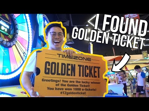 GOLDEN TICKET FOUND!!!(Worth 1000 Ticket) - Arcade Ninja (Timezone)