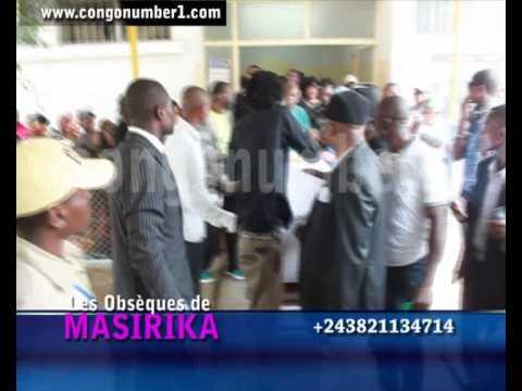 Exclusivité: Levée du corps de Joelle MASIRIKA de la morgue