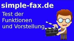Faxdienst simple-fax.de vorgestellt