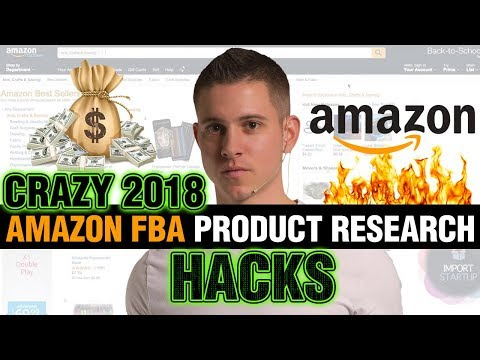 CRAZY Amazon FBA Product Research Strategy in 2018!