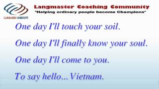 Hoc tieng anh qua bai hat - Hello VietNam - Quynh Anh Pham