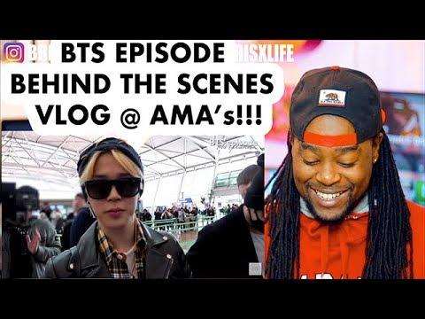 EPISODE BTS @ AMAs 2017 | REACTION!!! | BEHIND THE SCENE VLOG 방탄소년단