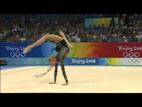 Olga Kapranova Rope Final Beijing 2008