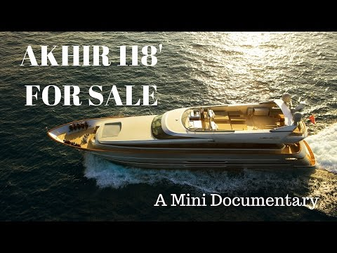 Cantieri di Pisa Akhir 118' Super Yacht For Sale - Mini Documentary