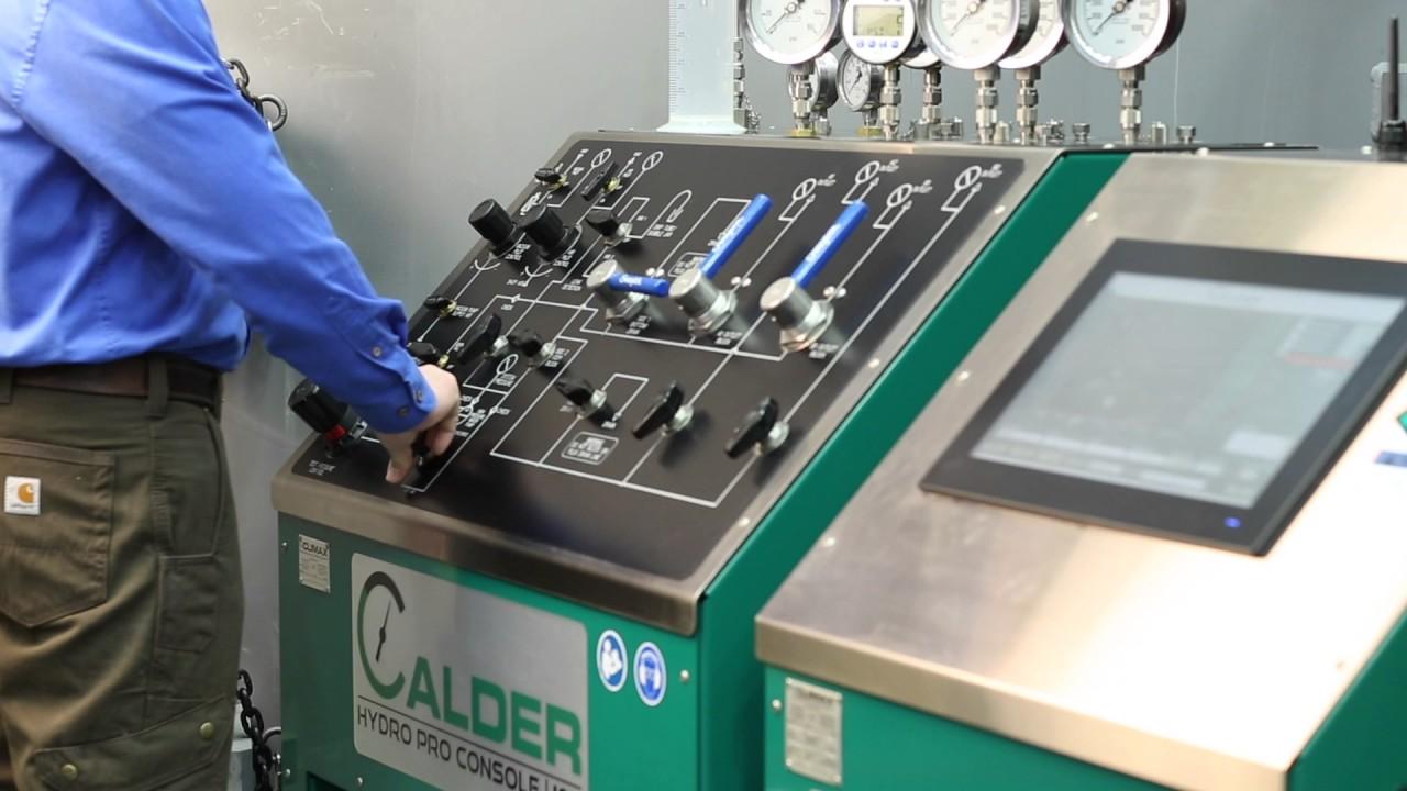Calder Hydropro Valve Testing Equipment Youtube