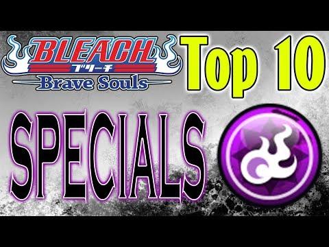 Bleach Brave Souls Top 10 Specials October 2018