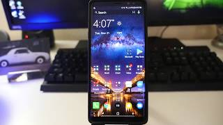 Galaxy Note 8 With Microsoft Launcher