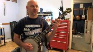 LOTW - Banjo Lessons: Useful licks - 'Ben Eldridge/Seldom Scene' dissonant lick
