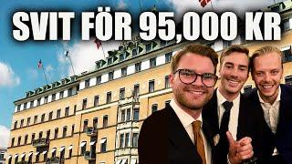 BOR I SVERIGES DYRASTE SVIT. (95,000 KR/NATT)