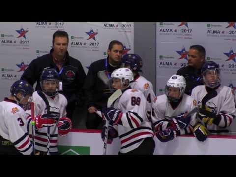 Jeux du Québec – 2017 03 01 – Hockey Masculin   Lanaudière VS Lac St Louis