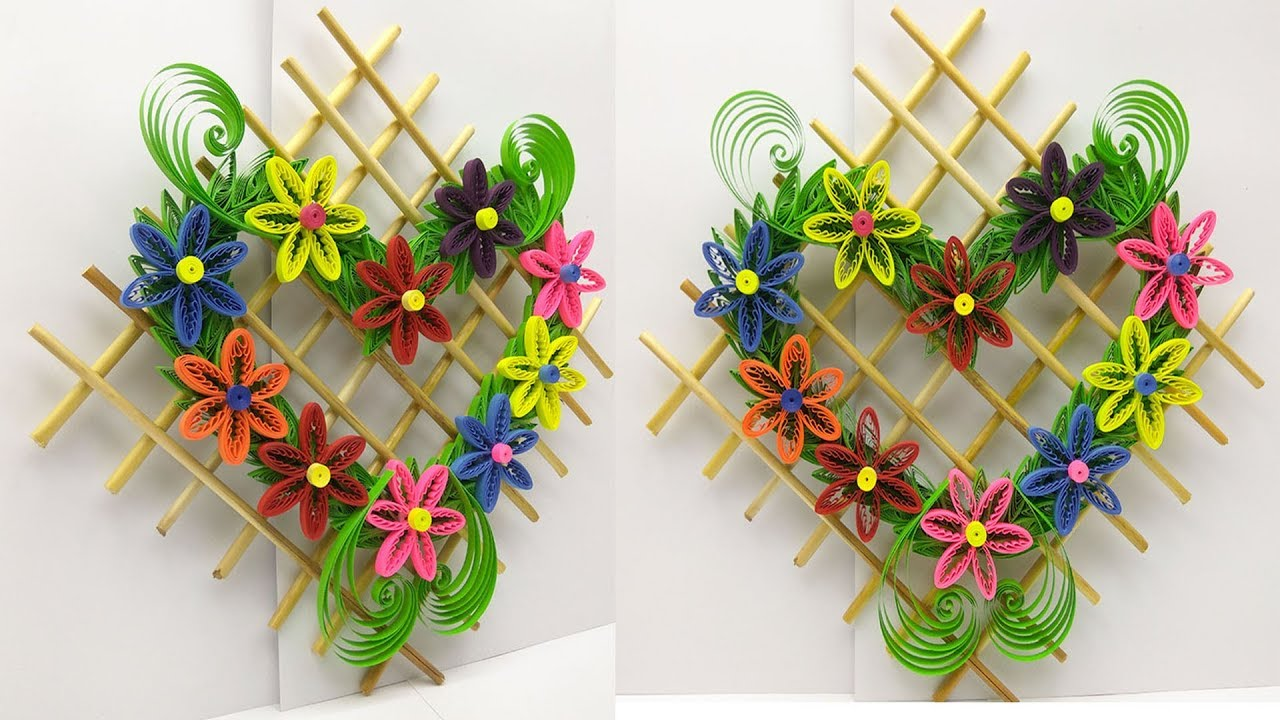 Diy Paper Quilling Quilled Wall Hanging Hanging For