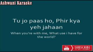Mere Haath Mein Karaoke with male voice