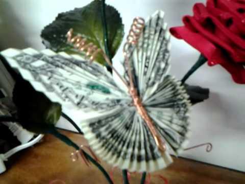 Qik Joys Money Rose And Butterfly By Jgg9480 Youtube