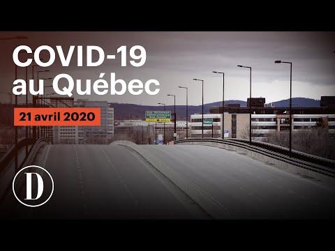 Coronavirus: le point sur la pandémie de COVID-19 au Québec | Mardi, 21 avril