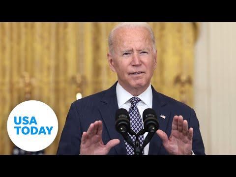 President Joe Biden delivers remarks on ending the war in Afghanistan   USA TODAY