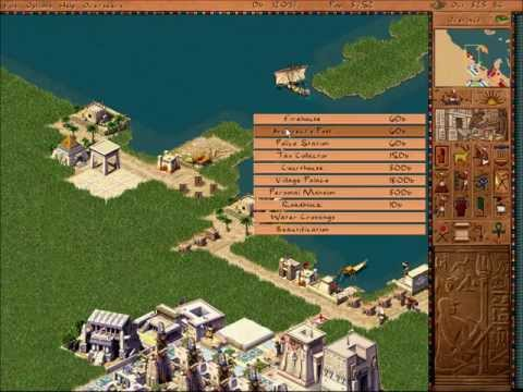 Pharaoh Walkthrough: Mission 35 - Alexandria (Alexandria 1)