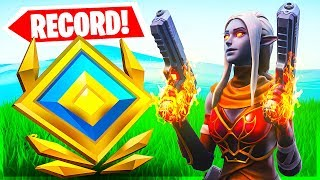 RANKED MODE RECORD? 24 ELIM GAME - Fortnite Division 3