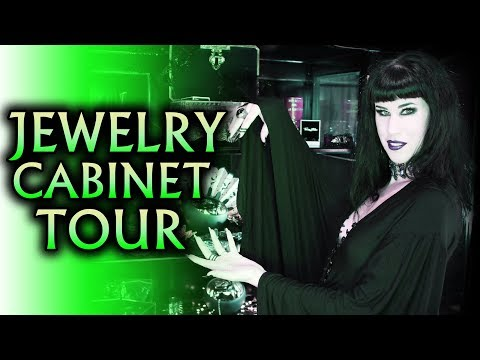 My Jewellery Collection + Cabinet Tour | Avelina De Moray