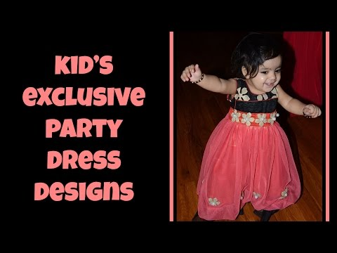 180 Exclusive Kid's Party Wear Designs