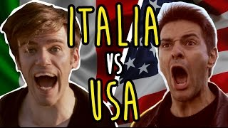 ITALIA VS USA - LE DIFFERENZE - iPantellas