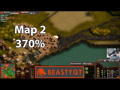 They Are Billions: StarCraft Pro VS Map 2 - 370% difficulty