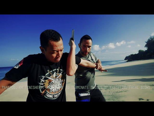 Sabayan: A Knife Drill with Finishing Moves | Filipino Martial Arts
