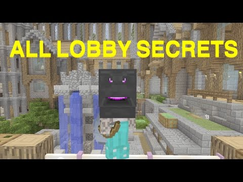 Minecraft console | Minigame Lobby Secrets | HOW TO GET ENDE