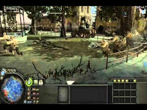 Company of Heroes Clips From A Battle