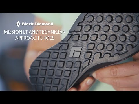 Black Diamond - Mission LT and Technician Approach Shoes