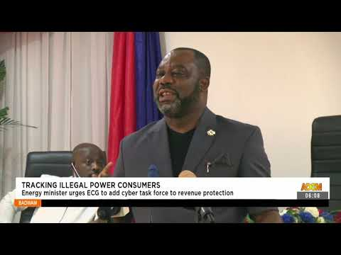 Energy Minister urges ECG to add cyber task force to revenue protection-  Adom TV (15-9-21)
