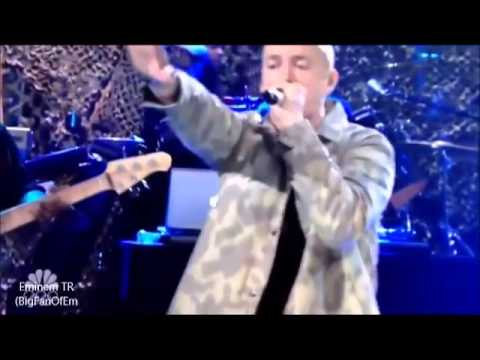 Eminem - Survival ft. Skylar Grey LIVE (Saturday Night Live 2013) CANLI!