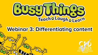 Webinar 3: Differentiating within your class -  creating teaching groups