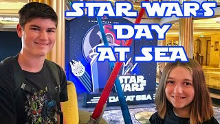 Disney Cruise Day 6 Star Wars Day at Sea!