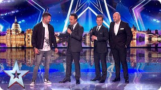 It's final! Calum Scott and Danny Posthill get the news  | Semi-Final 5 | Britain's Got Talent 2015