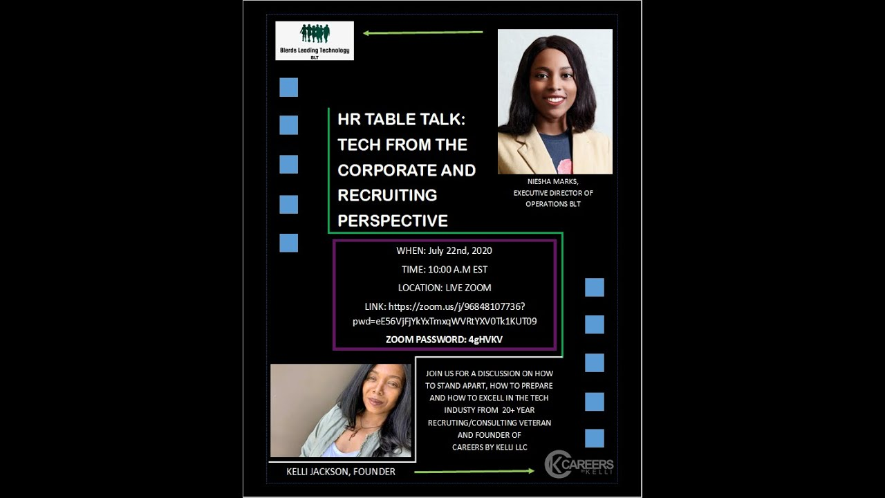 HR Table Talk: Tech From The Corporate and Recruitment Perspective