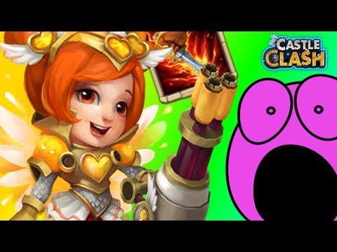 Castle Clash | Lady Boom Wird Zum TANK! 💪 Team Show-down 💪 | Schloss Konflikt