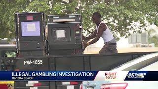 Illegal gambling investigation