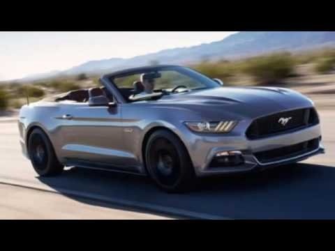2016 Ford Mustang GT Convertible Manual, sport cars video, sport cars