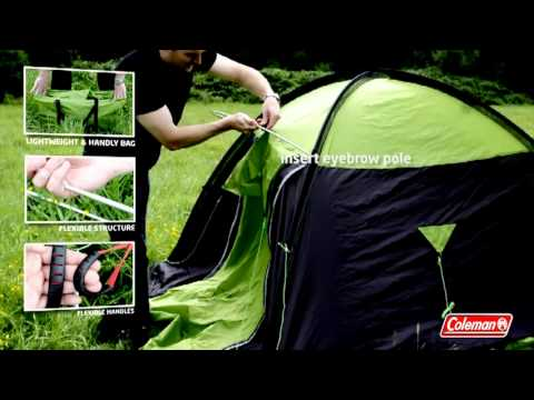 & Coleman® - Connect System Tent Tauri™ - YouTube
