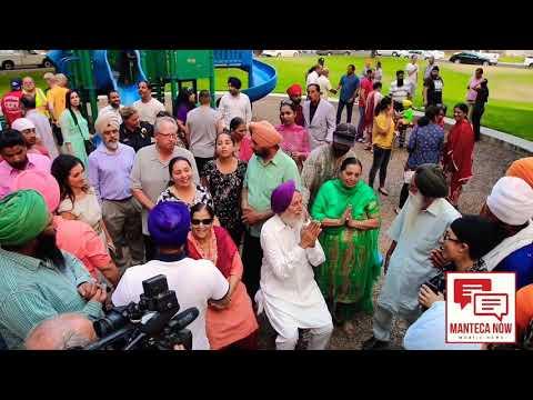 MantecaNow | Manteca gathers in solidarity for beaten local Sikh man