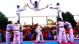 Bikash lama Taekwondo kicks and photo