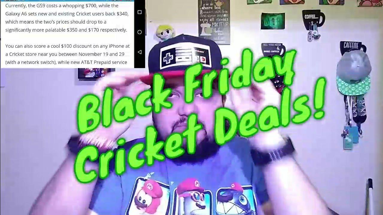 crickets black friday deals