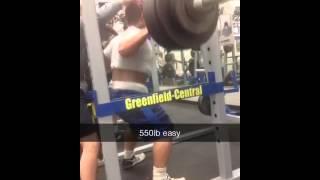 Andy Kim 550 lb. Squat