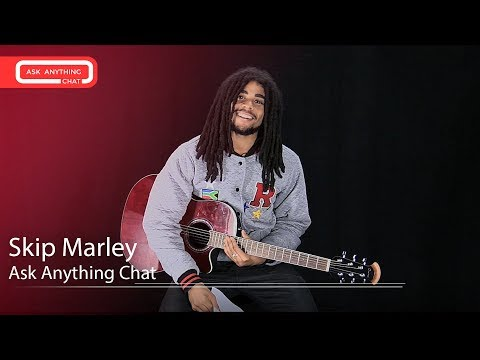 Skip Marley Talks About His Nicknames, Singing